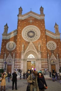 Picture of Anthony of Padua Church in Istanbul, Turkey.