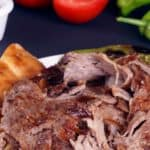 Picture of a typical döner kebap stand in Istanbul, Turkey.