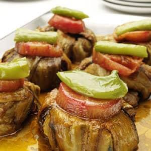 Picture of Islim Kebabı as served in Selvi Lokantası, Beyoğlu, Istanbul.