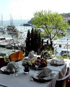 Kıyı fish restaurant in Istanbul, Turkey.