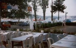 Tarihi Ali Baba fish restaurant in Istanbul, Turkey.