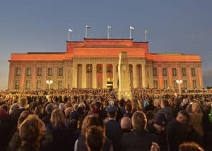 Picture of Anzac Day Dawn Service in Gallipoli, Turkey.