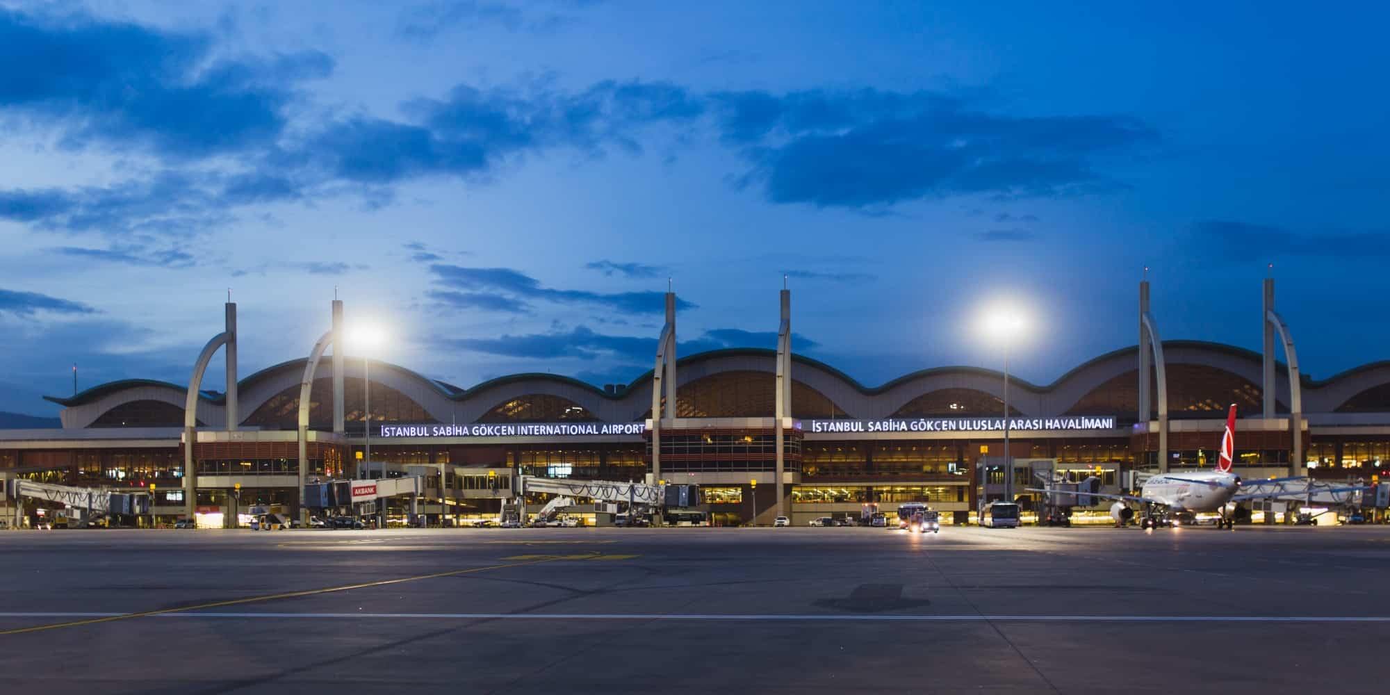 Picture of the Sabiha Gökçen (Sabiha Gokcen) International Airport in Istanbul
