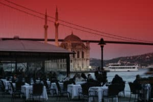 Picture of Feriye restaurant in Istanbul, Turkey.