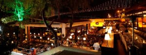 Image of Sortie, waterfront night club in Istanbul, Turkey.