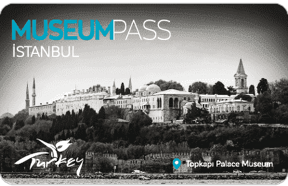 Picture of the Museum Pass Istanbul.