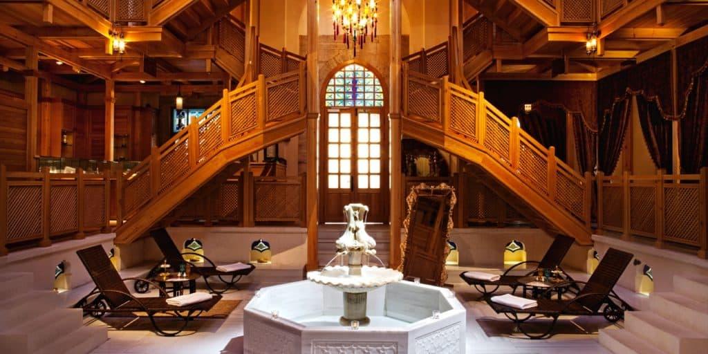 Cold Room of Ayasofya Hürrem Sultan Hamam in Istanbul.