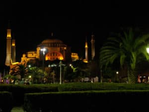 Picture of Hagia Sophia in Istanbul, Turkey