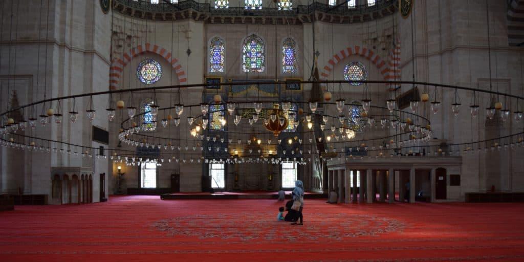 Picture of Süleymaniye Mosque in Istanbul, Turkey