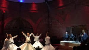 Whirling Dervish ceremony at Hodjapasha.