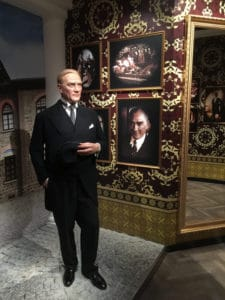 Atatürk at Madame Tussauds Istanbul.