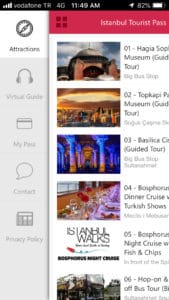 Istanbul Tourist Guide App Sightseeing