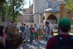 Guide Livan at Hagia Sophia Istanbul