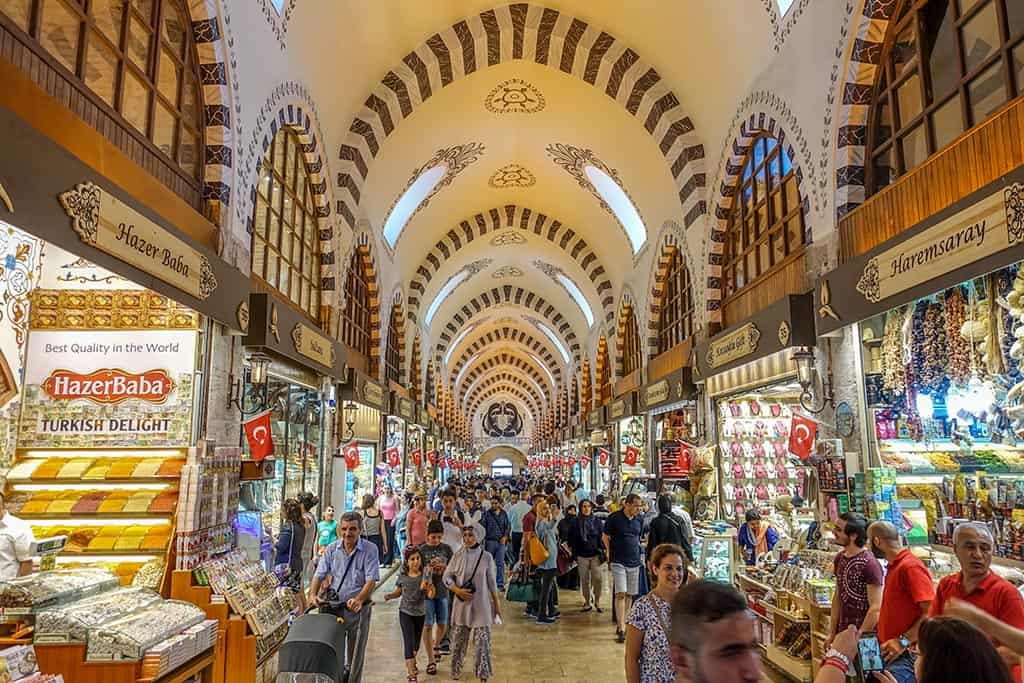 The Egyptian or Spice Bazaar, the Hottest Spot in Town - Istanbul ...
