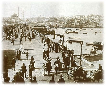 Golden Horn in the old days.