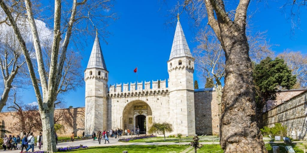 Picture of Topkapi Palace in Istanbul, Turkey